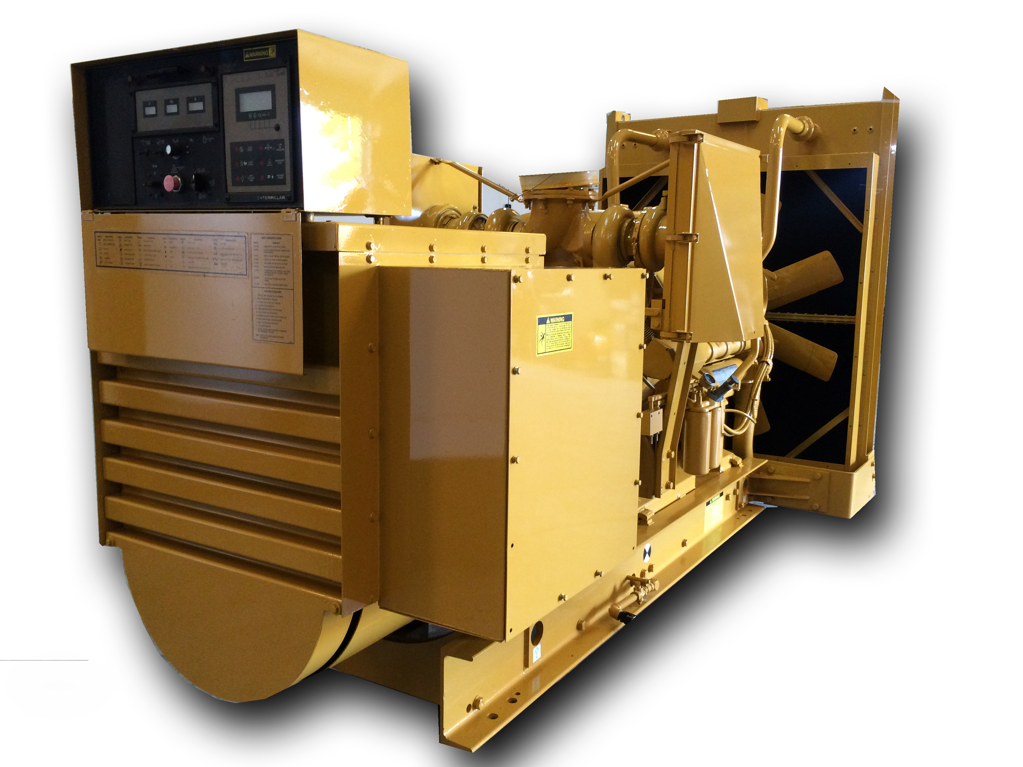 600 Kw Caterpillar Standby Diesel Generator Used