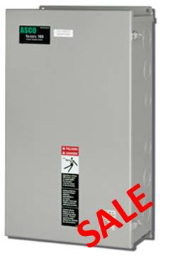 Home / Sale 100 Amp ASCO Automatic Transfer Switch - 240 Volt - 2 Pole
