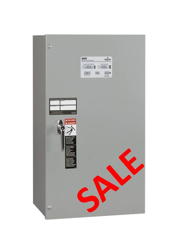 Home / Transfer Switches 70 Amp ASCO Automatic Transfer Switch - 240