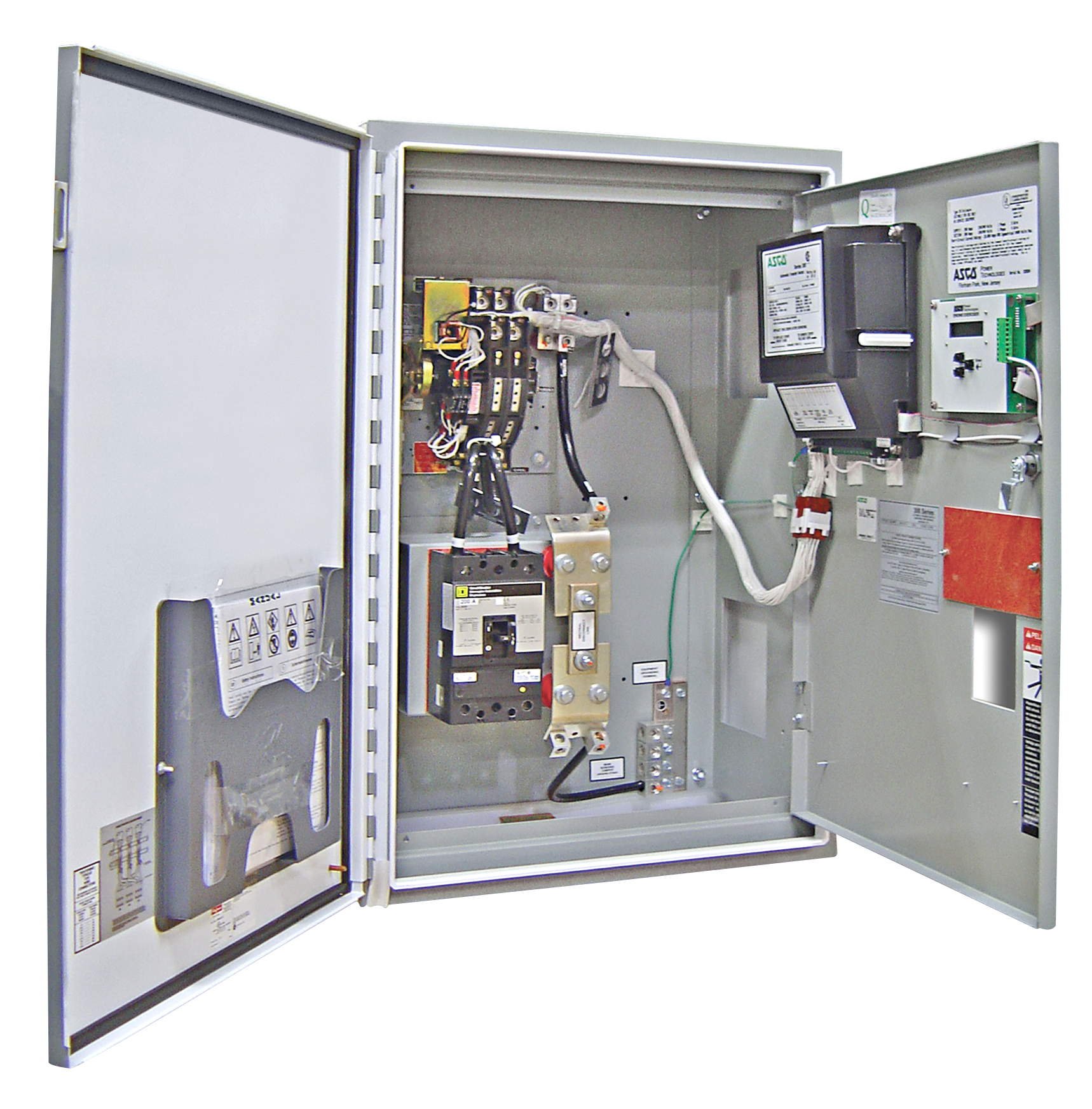 600 Amp ASCO Automatic Transfer Switch - 240 Volt - 2 Pole - SER